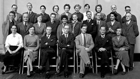 Staff of the Circulation Department c.1953-55