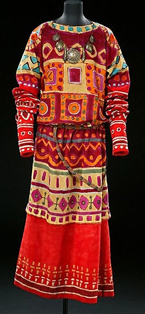 Costume for The Rite of Spring designed by Nicholas Roerich, 1913, Museum no. S.685-1980