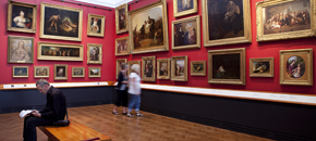 Refurbishment of the paintings galleries, 2003