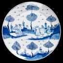 Plate, unknown maker, about 1700-20. Museum no. C.663-1917