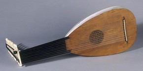 Lute, about 1630, probably Italian. Museum no. 1125-1869
