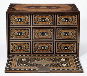 Cabinet, unknown maker, 16th century. Museum no. 317-1866