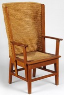 Armchair, based on design by David Kirkness, made by Reynold Eunson, 1971. Museum no. Circ.120-1971