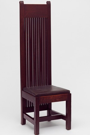 Dining Chair, Frank Lloyd Wright, 1902. Museum no. W.4-1992
