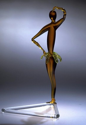 Josephine Baker figure, Fritz Lampl, about 1930. Museum no. C.22-1995