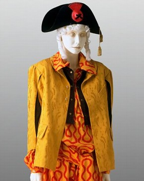 Pirate outfit, Vivienne Westwood, 1981-82. Museum no. T.334 to I-1982