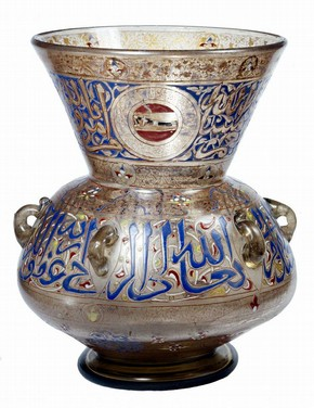 Mosque lamp, Egypt, 1320-1330