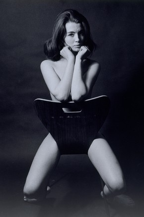 Christine Keeler 1963, Lewis Morley (Australian, born 1925), Gelatin-silver print. Museum no. E.2-2002, © Victoria and Albert Museum, London/Lewis Morley