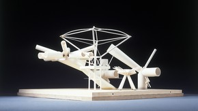 Structural model for Stansted Airport by Arup Associates