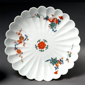 Saucer, Meissen porcelain factory, 1729-1731. Museum no. C.575&A-1922, © Victoria and Albert Museum, London