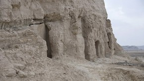 Cave temples near Korla, Mingoi, Victoria Swift, 2008. Photo 1187/2(56), © International Dunhuang Project