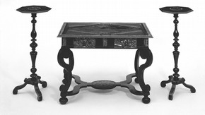 Figure 1. Table and candlestands. Photography by V