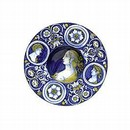 Maiolica Dish, about 1525, Italy