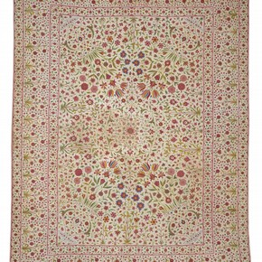 Floorspread, India, 18th Century. Museum no. IS.34-1985