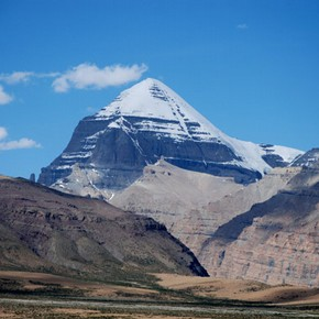 Sacred Mount Kailash, Tibet. Photograph © John Huntington