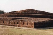 View of stupa, Kapilavastu. Photograph © John Huntington