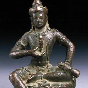 Seated figure of Vajrasattva, Museum no. IS.38-1994