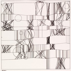 Фридер Наке, «Hommage a Paul Klee 13/9/65 Nr.2», 1965. Номер музея.  E.951-2008.  Подарено американскими друзьями V