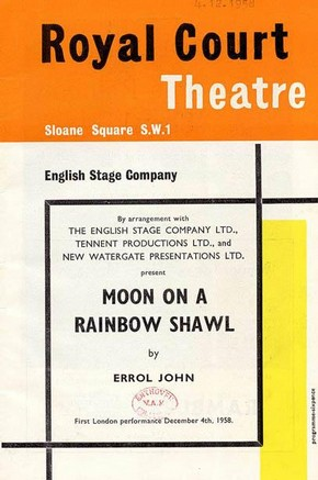 'Moon on a Rainbow Shawl', theatre programme, 1958