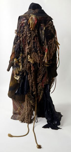 Costume for a tramp in Mark Anthony Turnage's 'Greek', designed by David Blight, English National Opera, Coliseum, London, 1990. Museum no. S.1097-1995