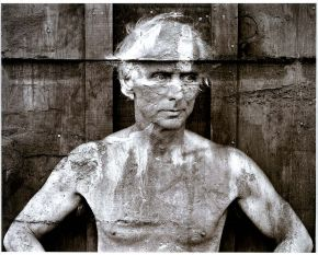 Frederick Sommer, portrait of Max Ernst, 1946, gelatin-silver print, given by the photographer 1993, Museum no. E.997-1993, © Victoria and Albert Museum, London/The Estate of Frederick  Sommer Courtesy Pace/MacGill, New York