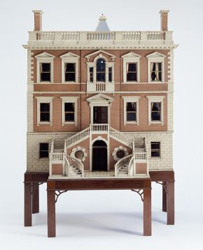 Figure 1. Tate Baby House, 1760, Museum no. W.9-1930, Photography by V&A Photographic Studio © Victoria & Albert Museum, London