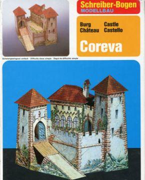 Paper model, Coreva, Schreiber, Germany, 2000s