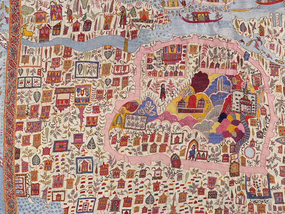 The fabric of india about the exhibition victoria and albert museum map shawl woollen embroidery kashmir 19th century victoria and albert museum gumiabroncs Images