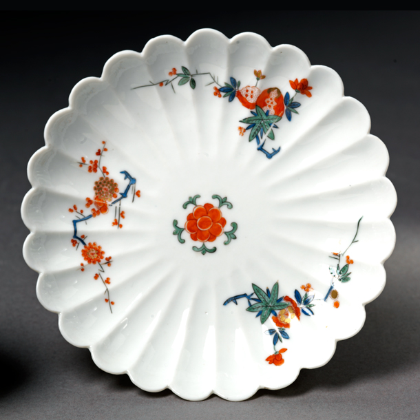 Saucer Meissen porcelain factory 1729-1731. Museum no. C.575\u0026A & Japanese Ceramic Styles - Victoria and Albert Museum
