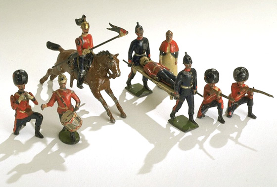 Victorian Toy Soldiers http://www.vam.ac.uk/content/articles/c/caring-for-your-lead-coins-medals/