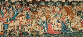 The Boar and Bear Hunt Tapestry
