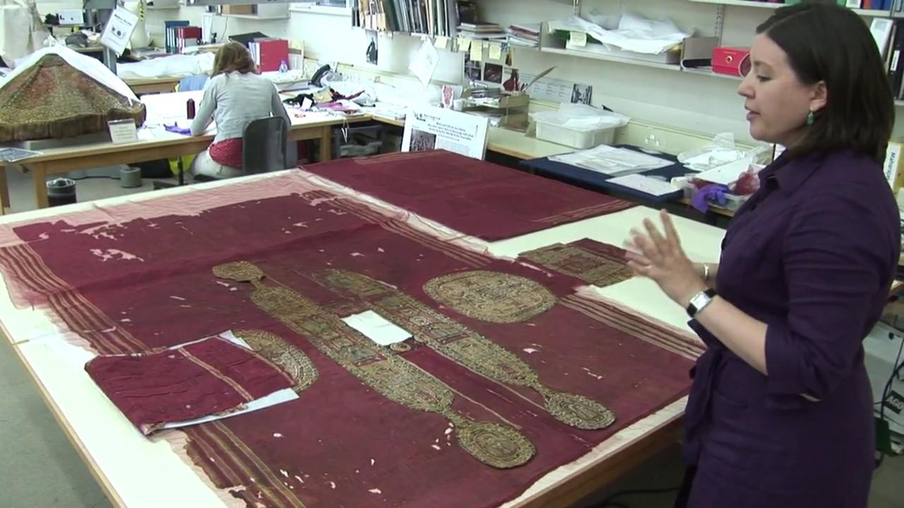 Video: Conservation of a Tunic from Egypt