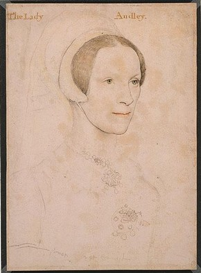 Figure 2. 'Elizabeth, Lady Audley', c.1538, 292 x207mm, RL 12191 (The Royal Collection ©2009 Her Majesty Queen Elizabeth II)