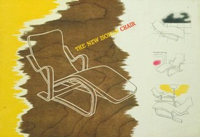 Isokon long chair brochure, 1937
