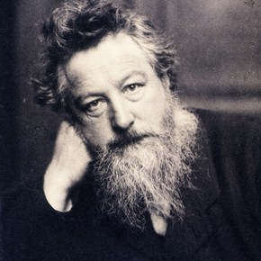 William Morris, photographed by Frederick Hollyer, 1884. Museum no. 7715-1938