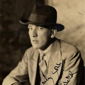 Postcard of Noël Coward, mid 20th century.