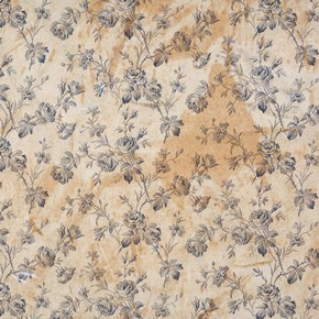 Floral wallpaper, about 1850-75. Museum no. E.800-1969