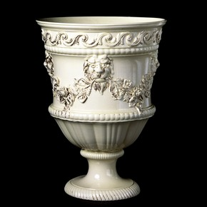 Vase, made at Josiah Wedgwood's factory, about 1765. Museum no. 3119-1853