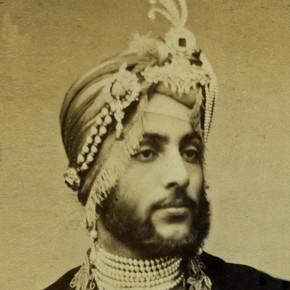 Carte de visite, Dalip Singh, England, 1850-1900. Museum no. 2831-1934