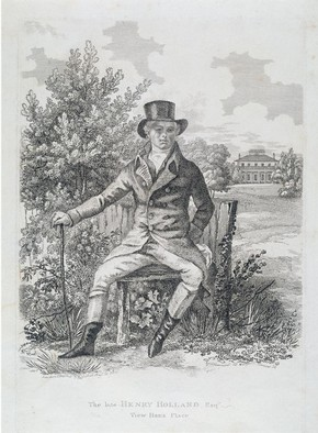 'The late Henry Holland Esq', etching by George Garrard, England, about 1760-1826. Museum no. E.222-2002