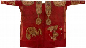 Figure 3. An Egyptian tunic, made between 642-800 (291-1891). Visitors will be able to wear a replica based on this tunic. (Photography by V&amp;A Photographic Studio)