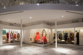 The newly refurbished Fashion Galleries, 2012