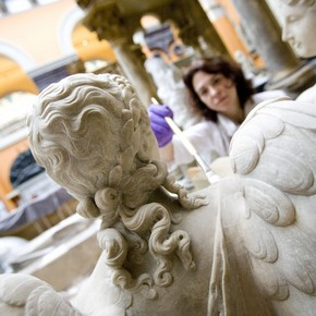 Sculpture conservation