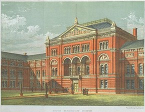 South Kensington Museum, February 1869