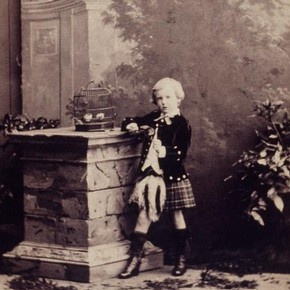Camille Silvy (1834-1910), photograph of Master HGE Gladstone, 1862. Museum no. E980-1992