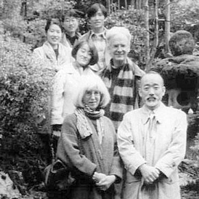 Figure 1. The Nihonga mosha group. Photography by Aya-san