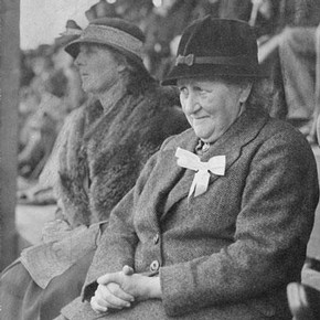Beatrix Potter at the Keswick Show, 1935, taken by an anonymous photographer, © Frederick Warne & Co. 2006