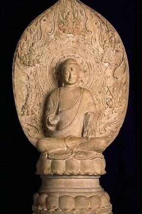Buddha Sakyamuni, 550-77. Museum no. A.36-1950