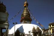 Swayambhunath stupa, Kathmandu, Nepal. ©John Huntington