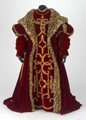 Costume for Alfonso d'Este in Gaetano Donizetti's 'Lucrezia Borgia', designed by Michael Stennett,made by Bonn & Mackenzie Ltd, London, 1980. Museum no. S.80:1-2003